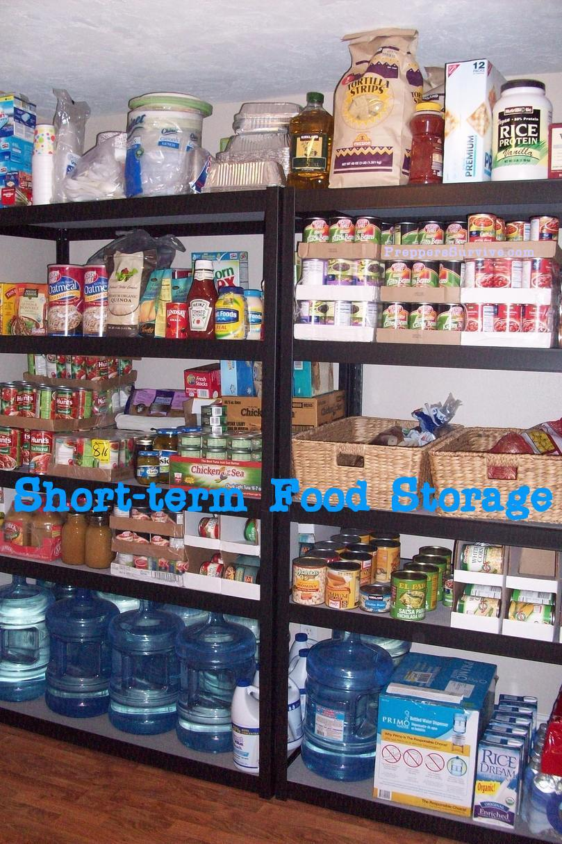 Short Term Or Long Term Food Supply Preppers Survive