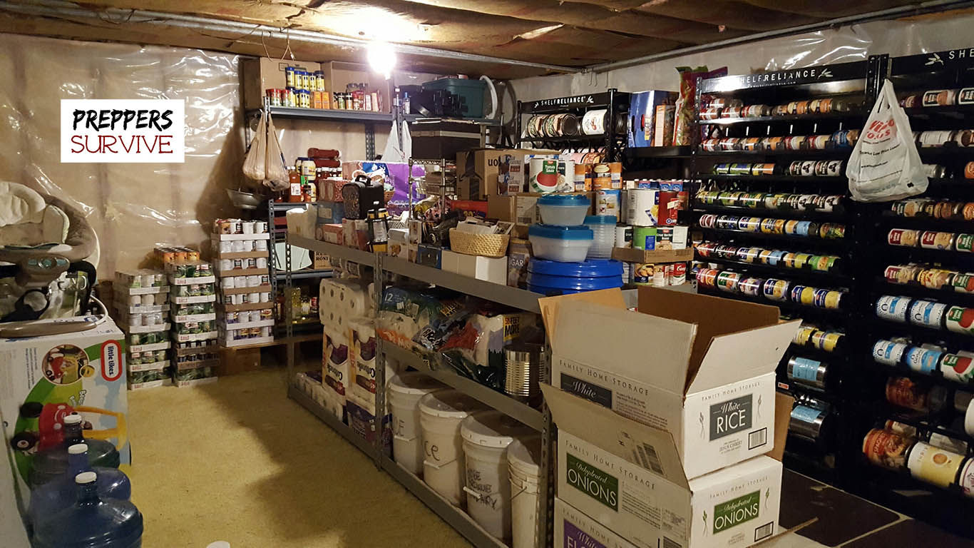 An Uncensored Peek Inside A Prepper S Pantry Preppers Survive